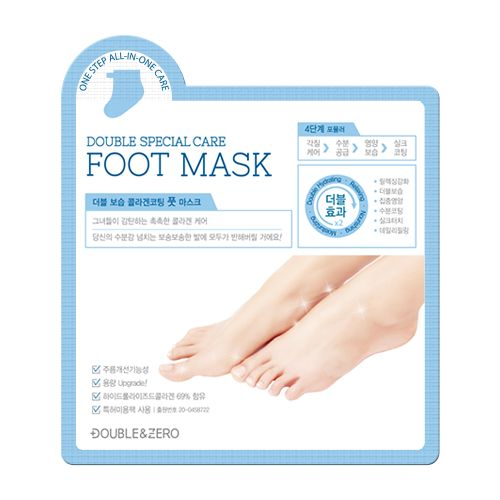 [DOUBLE&ZERO] Double Special Care Foot Mask (1Box)