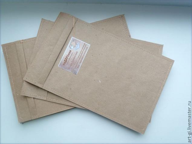 Крафт-пакеты на скорую руку - Ярмарка Мастеров - ручная работа, handmade