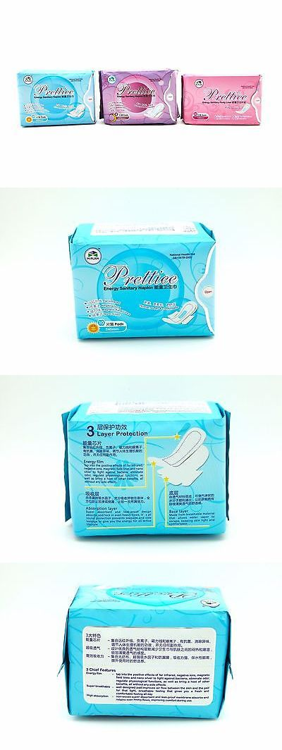 Sanitary Napkins: Negative Ions Anion Sanitary Napkin - 1Xnight + 1Xday + 1Xpantiliner BUY IT NOW ONLY: $67.0