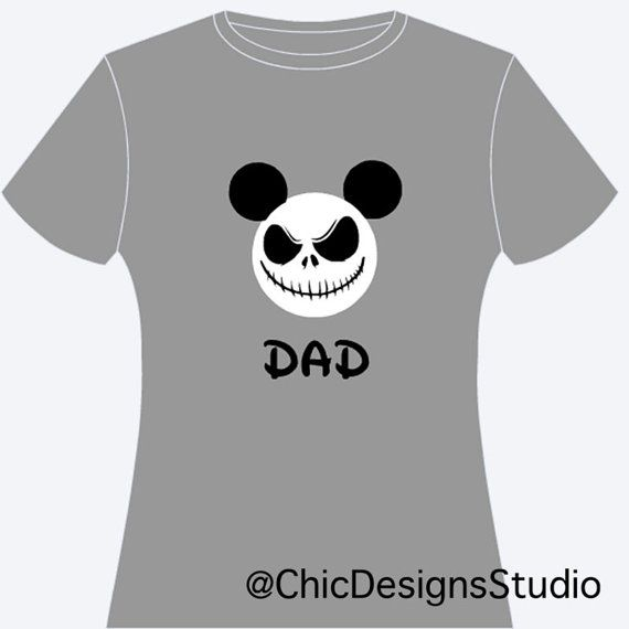 Jack Skellington Personalized Shirt Jack by ChicDesignsStudio