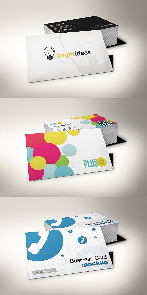 European Size Business Card Mockup 3 Mockup Business Cards And