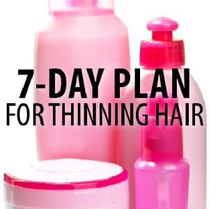 Dr Oz recommends 1)Eating Protein Rich Foods at every meal  2) Taking Biotin Supplement for Hair Loss 1000-3000 mg a day along with a multivitamin 3) Tilia Bud Extract Shampoo & Conditioner