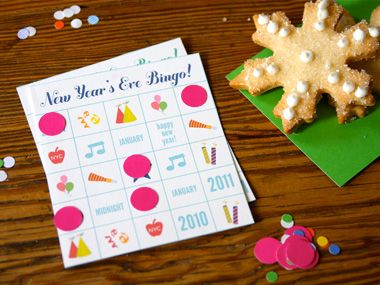 Hip Hip Hoorays 10 Ways to Celebrate New Years Eve: Bingo Cards, Years Ideas, For Kids, Years Parties, Eve Parties, Parties Ideas, New Years Eve, Years Bingo, Eve Bingo