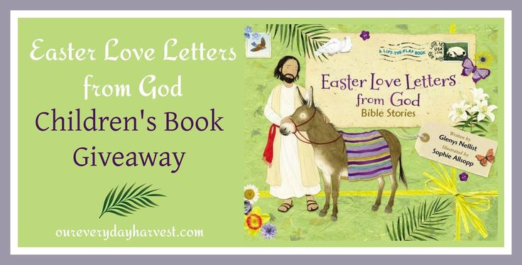 Easter Love Letters from God would make a beautiful gift for children, all while offering a special way to spread the true meaning of the Easter holiday.