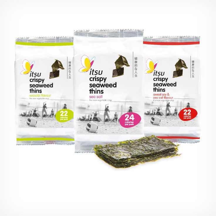 Itsu Crispy Seaweed Thins - the healthy snack you need to replace the greasy crisps!
