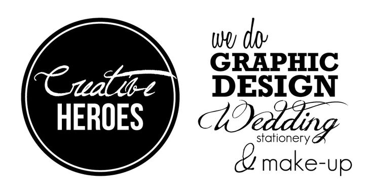 Graphic design, wedding stationary and make-up.