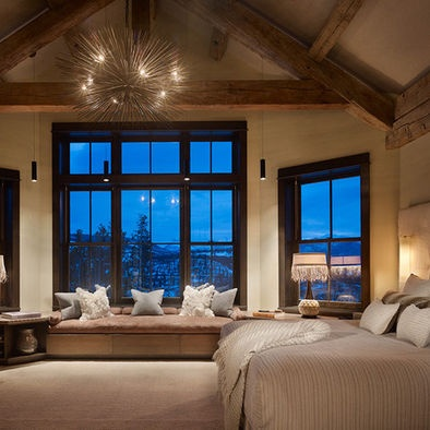 High Alpine Residence Master Bedroom