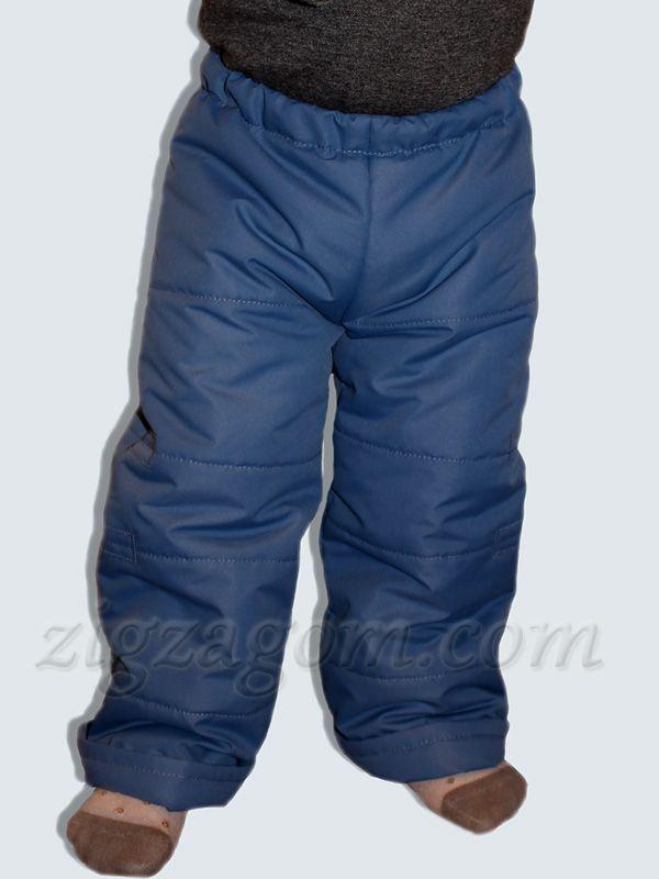 Шьем утепленные детские брюки
