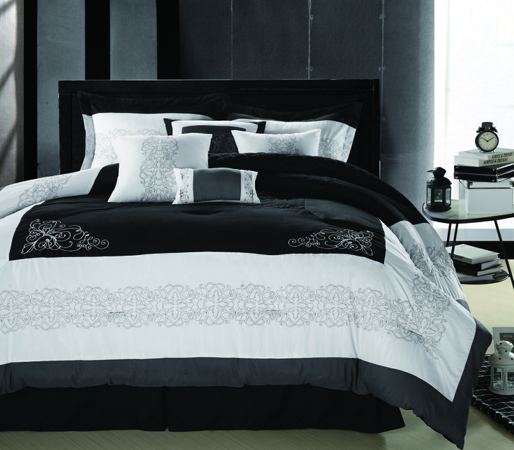 and coral size bedding getmojito king black image luxury comforter red sets of