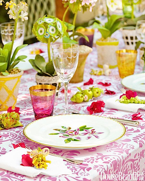 19 best Pretty in Pink images on Pinterest | Table settings ...