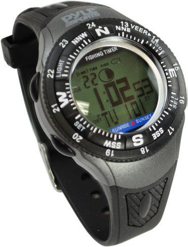 9 best fish watches images on pinterest clocks digital for Fishing moon phase