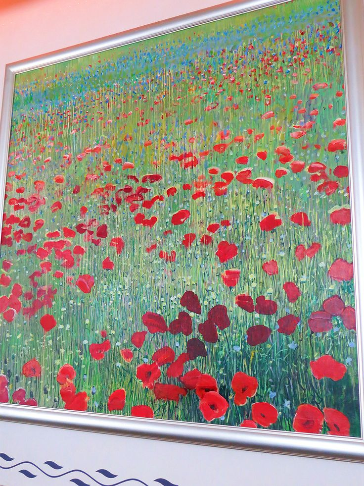 Another wonderful painting of poppies from Gyula Konkoly's paintbrush, a Hungarian painter and university professor.