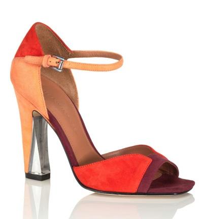 Sigerson Morrison Resort 2013: Killers Shoes, Orange Heels, Morrison Resorts, Corista Pumps, Lucite Heels, Resorts 2013, 2013 Shoes, 2013 Collection, Color Sigerson Morrison
