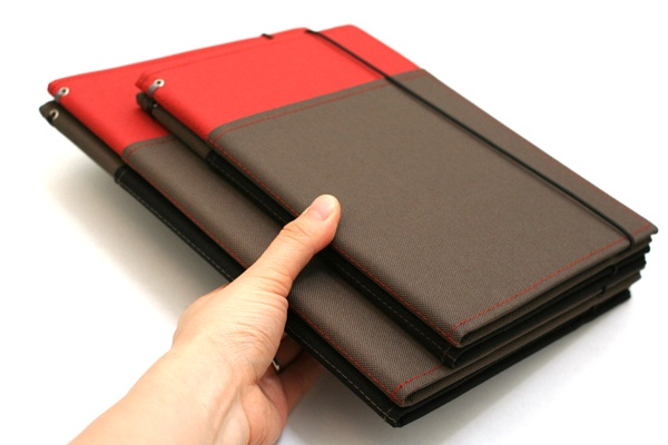 Kokuyo Systemic Refillable Notebook Cover - A5 - Normal Rule - Red ...