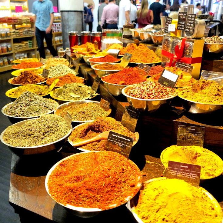 Spices at Chelsea Market  New York City Double-Barrelled Travel Things to do in NYC