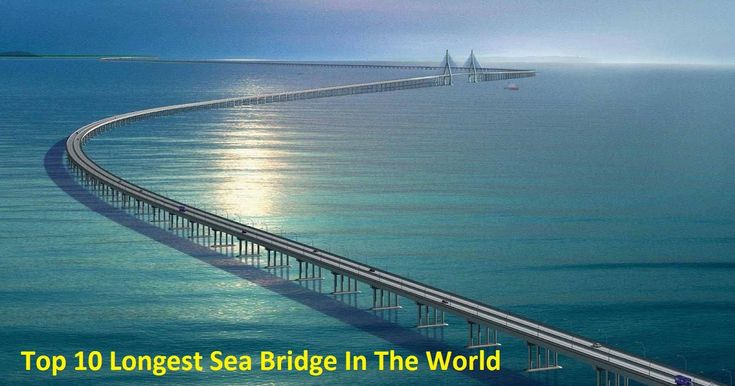 Top 10 Longest Sea Bridge In The World.:Trying to determine the longest sea bridge in the world is not easy. In recent years there are innumerable measurement wars that fight along the longest sea bridge on earth. The main reason for this is that it is difficult to determine the structure of the bridge exactly as it should be in the water. Are road bridges elevated? What happens if a part of the bridge is more than water? If you compete for Guinness World Records despite these legitimate…
