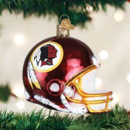 Old World Christmas Washington Redskins NFL Football Helmet Glass Ornament direct from the ChristmasOrnamentStore.com