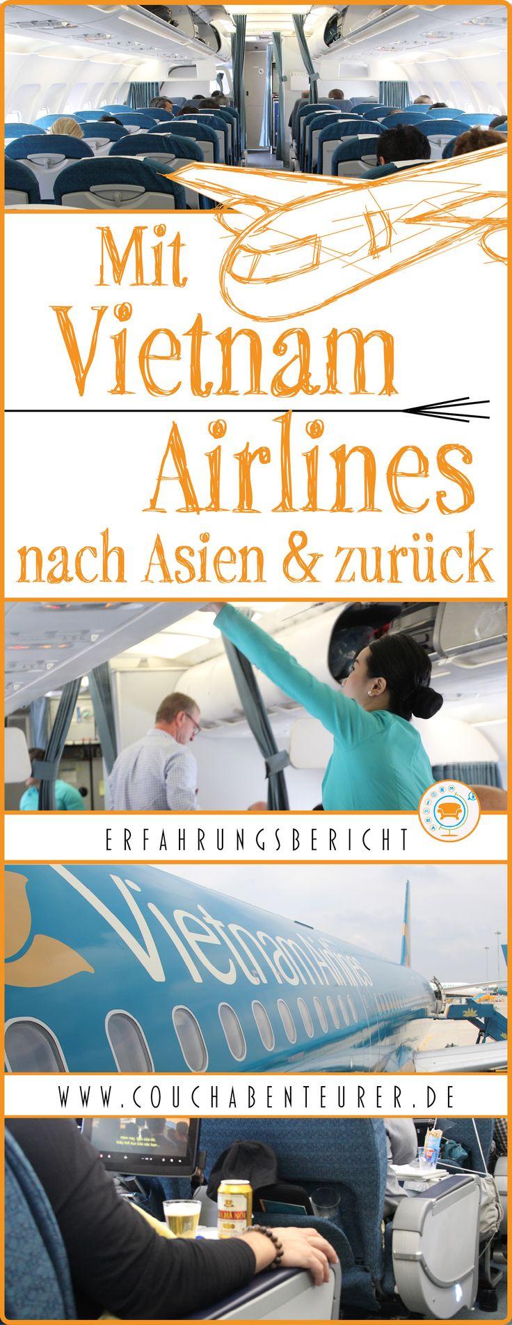 Mein Erfahrungsbericht von dem Flug mit dem Dreamliner von Vietnam Airlines von Deutschland nach Asien. Alle Infos zu Sauberkeit, Essen bis Entertainment.