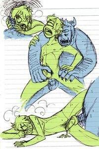 Monster inc yaoi