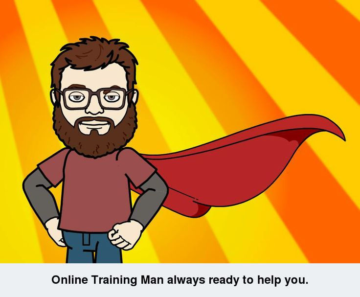 Online training man