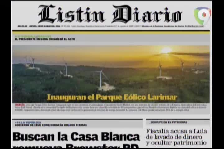 Portada De Los Periódicos Del Día De Hoy #Video