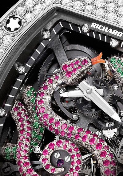 Richard Mille RM 026 Tourbillon Watch - Powers of Nature and Fine Watchmaking Watches Channel