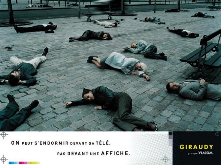 Giraudy - L'affichage