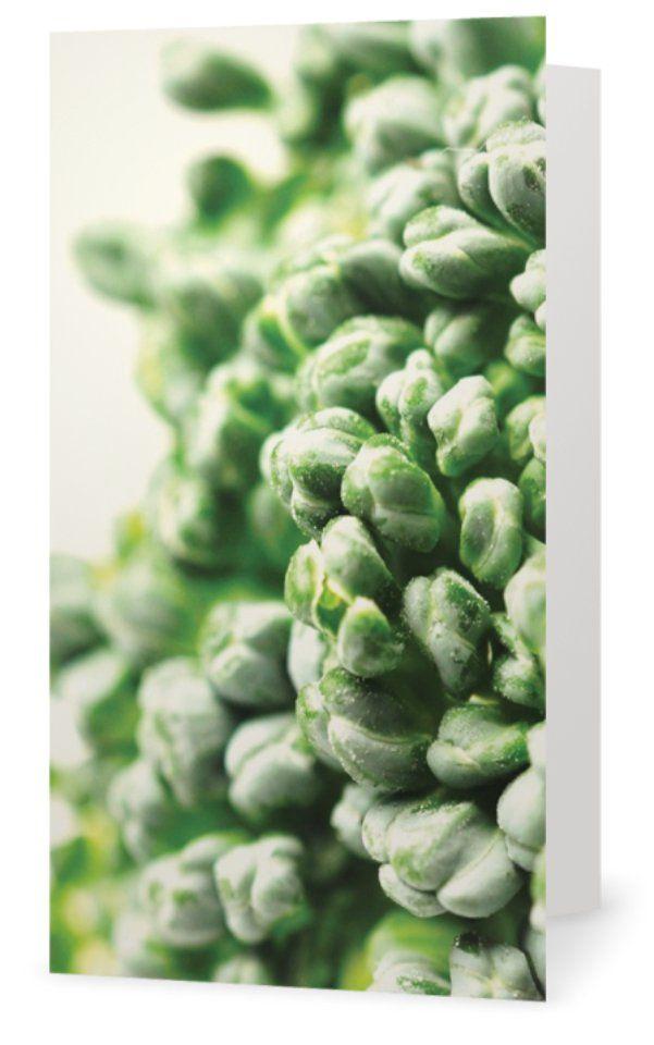 Broccoli. Cards for florists. Gift card for flower arrangements. Scandinavian design. Jäderberg & Co.