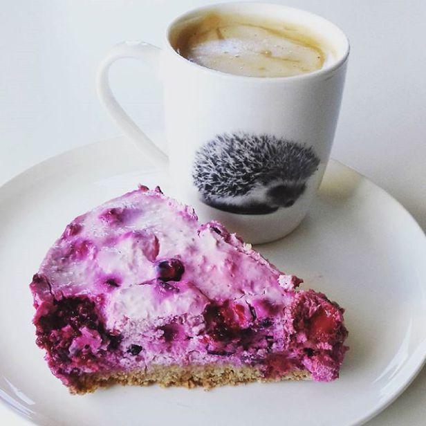 Bosvruchten ontbijt-cheesecake – Ontbijttaart en andere ontbijt inspiratie