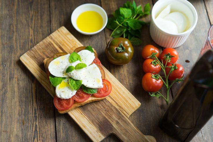 Как приготовить сэндвич в стиле капрезе, пошаговый рецепт с фото, блог и интернет-магазин с доставкой по России, andychef.ru