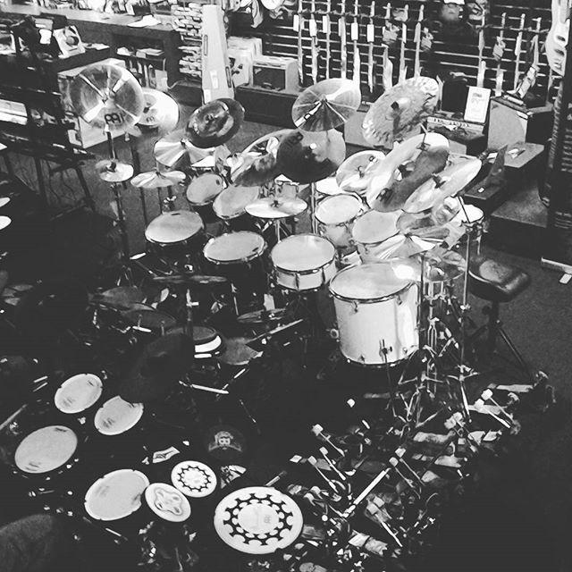 Bratislava shop drummers heaven #drumkit #drums #store