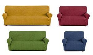 Groupon - Copridivano universale in cotone elasticizzato disponibile in vari…
