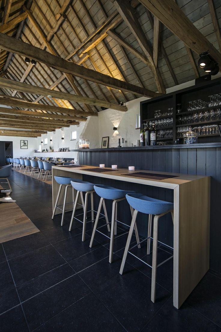 Restaurant inrichting - barkrukken Papinglo Maldegem