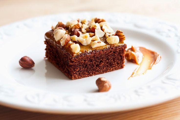 Mad på 4 sal: Chokoladekage med karamel