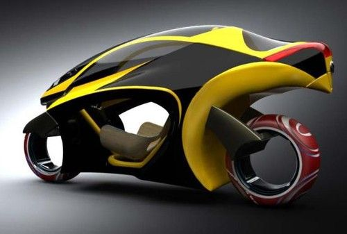 Motorcycle Of The Future | Sampdesign Leo, motorcycle concept, Mauricio Sampaio, Future Motorbike ...