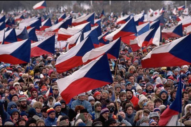 Praha 1989, sametová revoluce