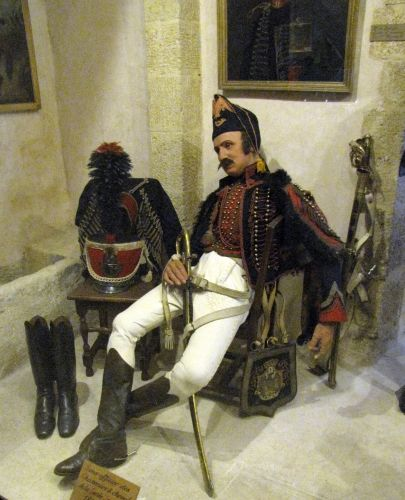 Salon de provence sous officier des chasseurs a cheval de la garde imperiale 1810 1815 - Medecin de garde salon de provence ...