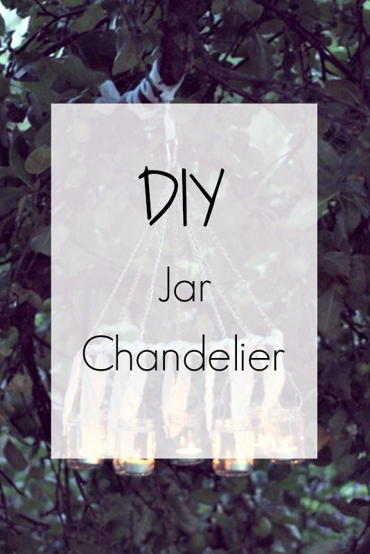 Ioanna's Notebook - DIY Jar Chandelier - Step by Step tutorial (with photos)