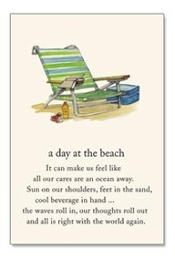 A day at the beach can make us feel like our cares are an ocean away Sun on our shoulders, Feet in the sand, Cool drink in hand The waves roll in, our thoughts roll out and All is right with the world again | Beach Quotes and Sayings