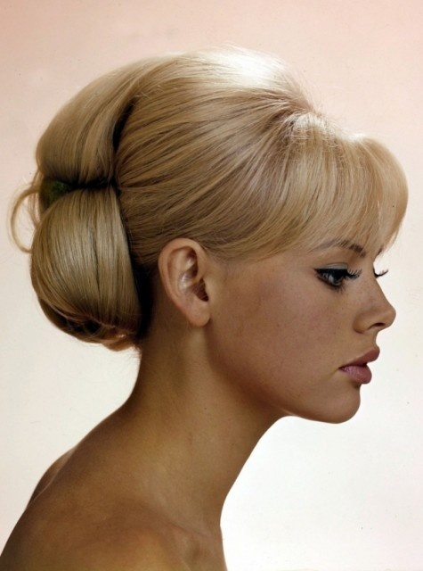 Rachel - this is a double Chignon…..this style is perfect with just the bottom part of the Chignon STUNNING!!!!!