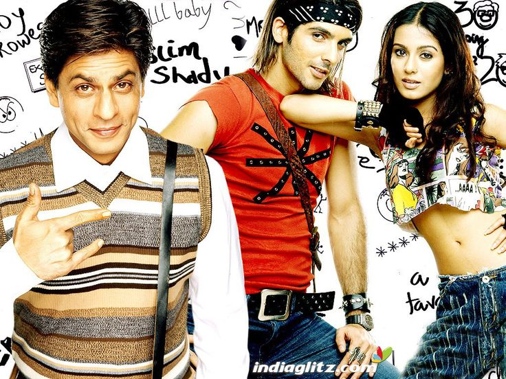 Main Hoon Na - Starring Shahrukh Khan, Zayed Khan, Amrita Rao. This movie definitely makes it into one of my all-time favorites. Director Farah Khan does a magnificent job of covering all the genres possible. From tears, emotion, and warfare; to fun dance numbers, music, comedy, and action; to love, romance, friendship, and relationships, this movie was genuinely a complete package. Definitely a must-watch Bollywood movie! :)