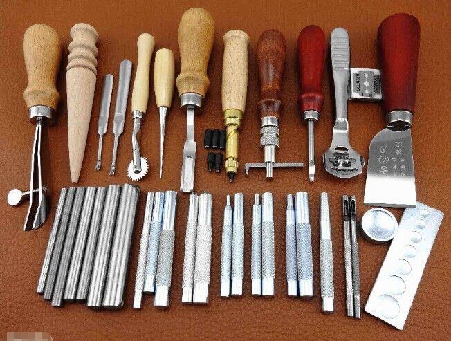 Cheap Cuero artesanía herramientas Set de coser a mano Kit…                                                                                                                                                                                 Más