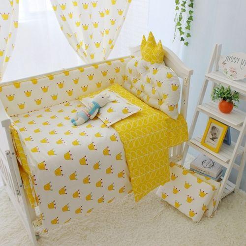 38.95$  Buy now - https://alitems.com/g/1e8d114494b01f4c715516525dc3e8/?i=5&ulp=https%3A%2F%2Fwww.aliexpress.com%2Fitem%2F4-10pcs-set-Yellow-Color-Baby-Bedding-Set-100-Cotton-Crib-Kids-Newborn-Cot-Bedding-Sets%2F32783107885.html - 4-10pcs/set Yellow Color Baby Bedding Set 100% Cotton Crib Kids Newborn Cot Bedding Sets(bumpers+sheet+matress+quilt+filling) 38.95$