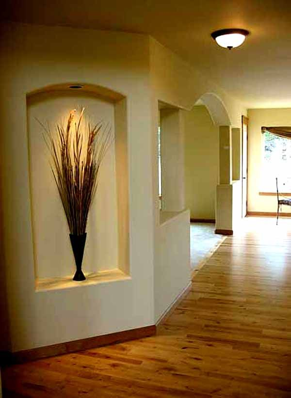 decoration large wall niche for decorative plant wall niche ideas tips of how to decorate. Black Bedroom Furniture Sets. Home Design Ideas