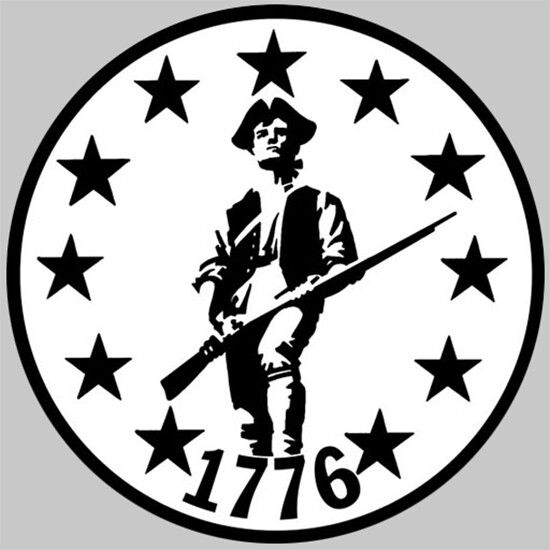 Colonial soldier revolutionary war crest emblem etc for American revolutionary war tattoos