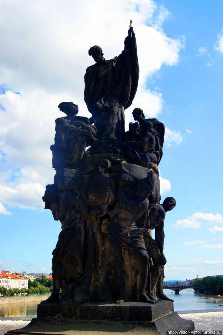 Святой Франциск Ксаверий, одним из самых успешных миссионеров католической церкви, сооснователь ордена иезуитов (1711 год, Фердинанд Брокоф).