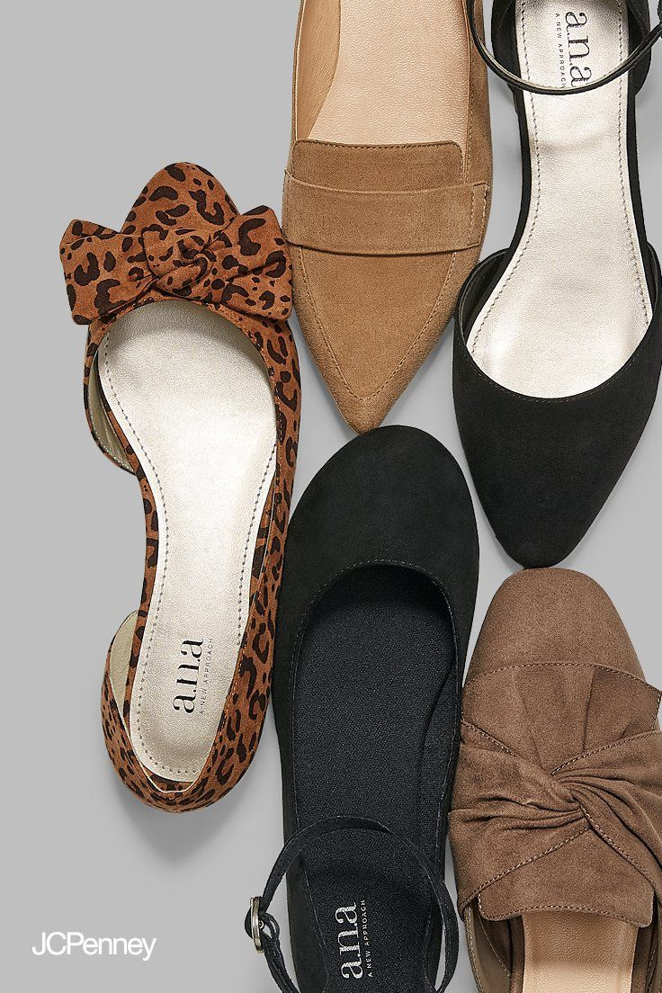 shoes outfit, Women's loafer flats