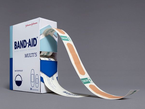 Great functionality! Band-Aid Multi's by Stephanie Toole, via Behance