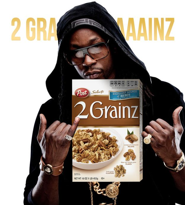 16 Cereal Brands If They Were Sponsored By Rappers