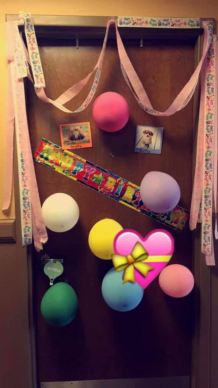 20th Birthday Dorm Room Decoration Surprise! Part 38